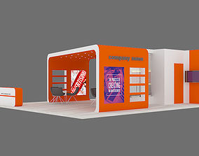 exhibition Stand 07 3D