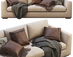 3D model RH Modena Taper Arm Sofa