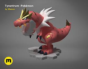 Tyrantrum Pokemon 3D print model