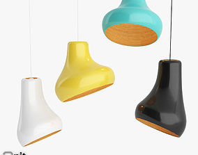 3D Samba pendant lamp by Hive