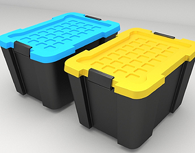 Recycle Storage Container 3D model