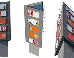 3D model Advertising Billboard