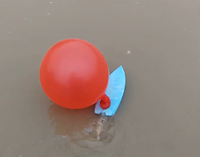 3D printable model SPEED BOAT or BALLOON BOAT