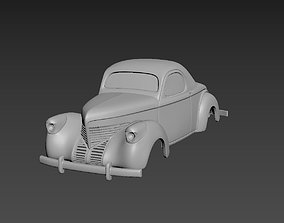 Willys Coupe 1939 Body For Print