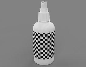plastic 3D model spray bottle