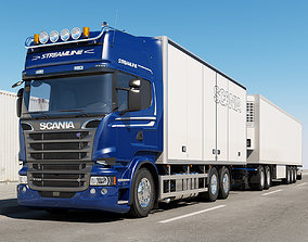 3D model Scania Streamline Road Train