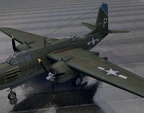 Douglas A-20G Havoc 3D