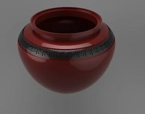 Roman vase 3D