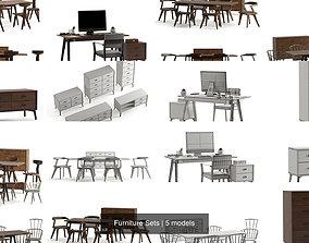 Furniture Sets 3D