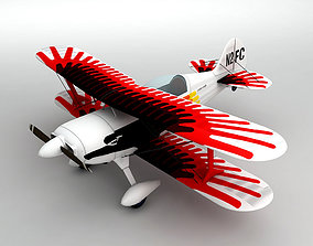 3D model Christen Eagle Biplane Aerobatic Aircraft
