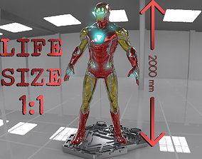 IRONMAN MARK 85 LIVE SIZE 3D MODEL