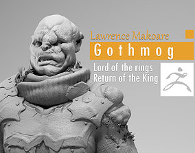 3D printable model Lawrence Makoare - Gothmog - Lord of 1