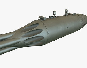 Rocket Launcher UB-16-57UM 3D asset