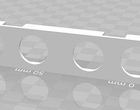 3D printable model HC-SR04 sonar holder x2