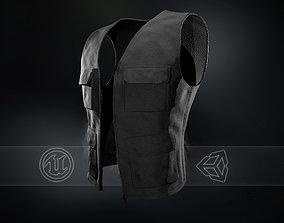 3D model Black Vest