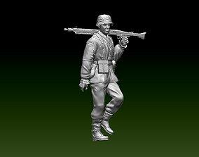 German soldier 3D print model 34