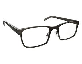 Glasses 03 3D model PBR