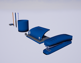 Office stationery pack 01 3D model