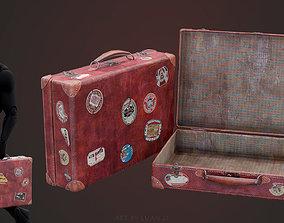 3D model VR / AR ready Suitcase