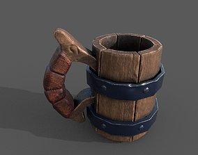 mug of beer 3D asset