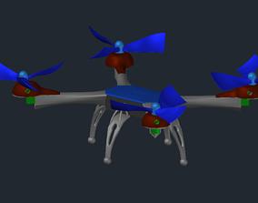 Drone 3D print model nature