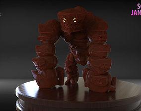 Golem Sculpture 3D print model