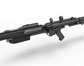 Mudtrooper Blaster rifle E-10 from Solo A Star 3D model 2