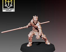 The DarkSaber 3D printable model