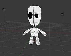Stickman 3D model