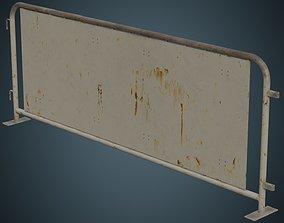Crowd Barrier 5C 3D asset