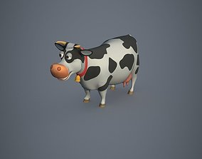 Cow Stylized 3D asset