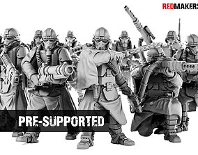 Death Squad Grenadiers of the Imperial 3D print model
