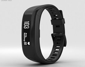 Garmin Vivosmart HR Black 3D model