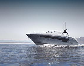 3D model Modern recreational motor boat