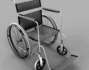 3D paralyzed Wheel chair