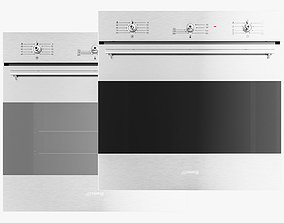 3D asset SMEG Ovens