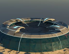3D Amphitheater with bonus props
