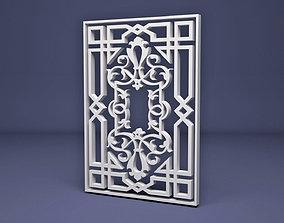 3D model Islamic Ornamental Wrought pattern