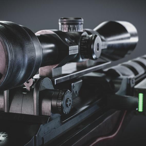 M14A1H Sniper Rifle
