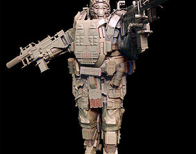 Future Soldier SYBO heavy unit POSED No Conversion pls 3D
