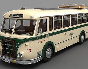 3D model ifa IFA H6 Bus 1952