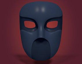 3D asset Gang Mask