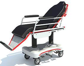 Medical Stretcher Chair 3D