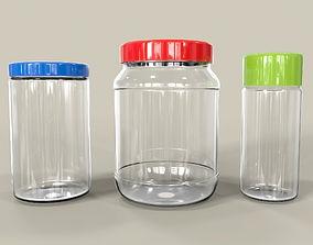 Jars Set 3D