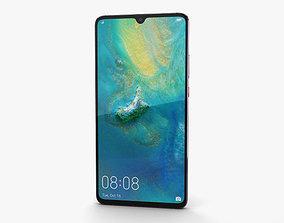 Huawei Mate 20 X Phantom Silver 3D