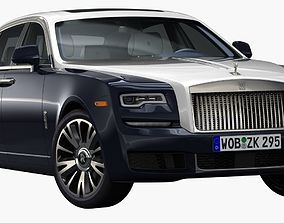 3D model 2018 Rolls-Royce Ghost EWB