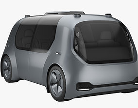 3D model Self-Driving Shuttle Concept