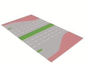 3D model Freeway Exit