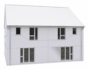 Neighborhood Houses P19 3D model