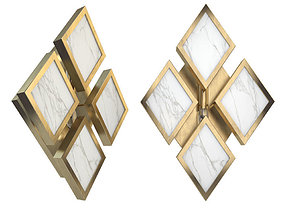 Robert Abbey Lighting with Edward Wall Sconce 3D model